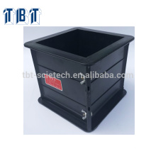 Export 150*150*150mm Plastic Cube Concrete Testing Mould